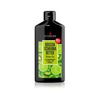 DETOX SHOWER GEL KIWI AND LIME with Fresh Centrifuged Fruit Juice 400 ml